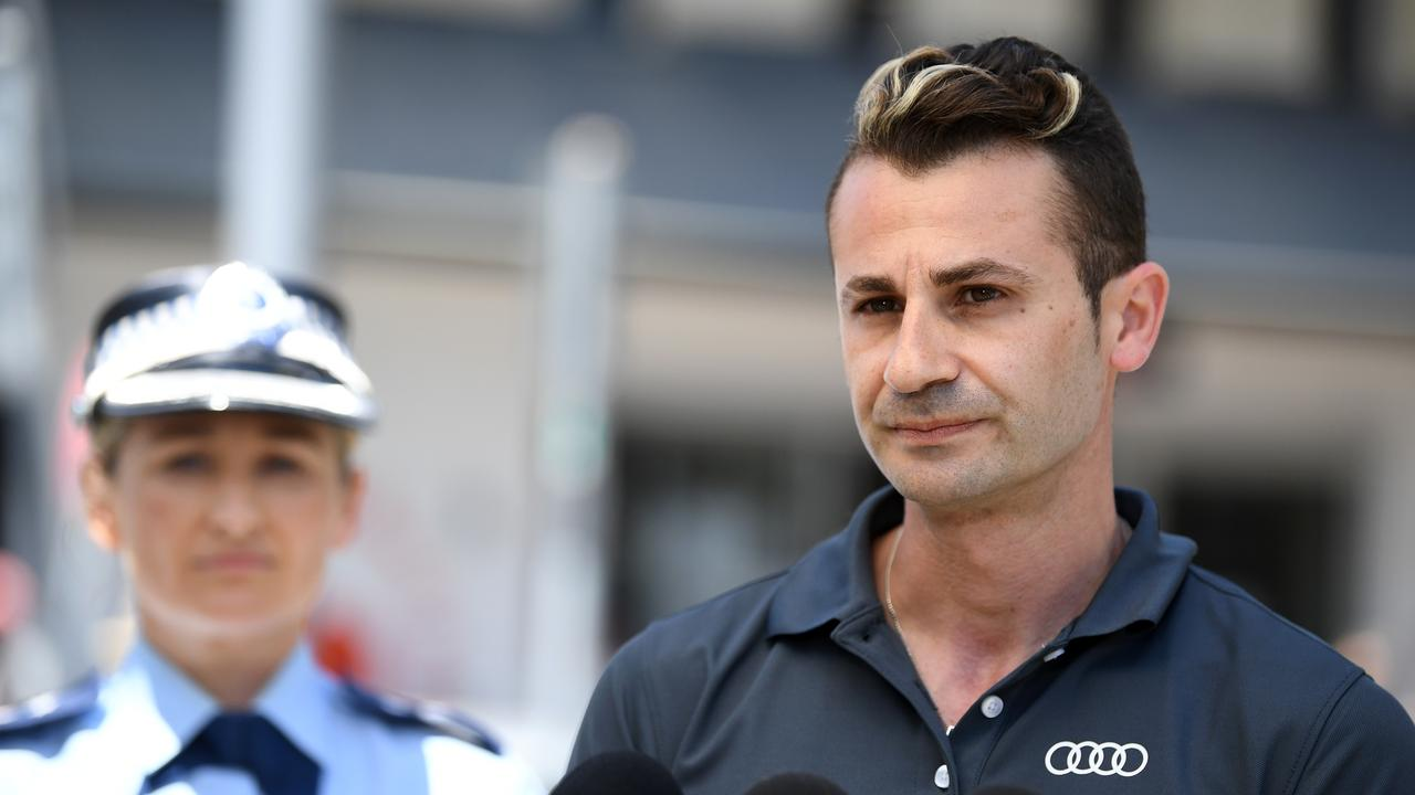 Hairdresser and DJ Anthony Koletti said he was helping police find his wife. Picture: NCA NewsWire/Joel Carrett
