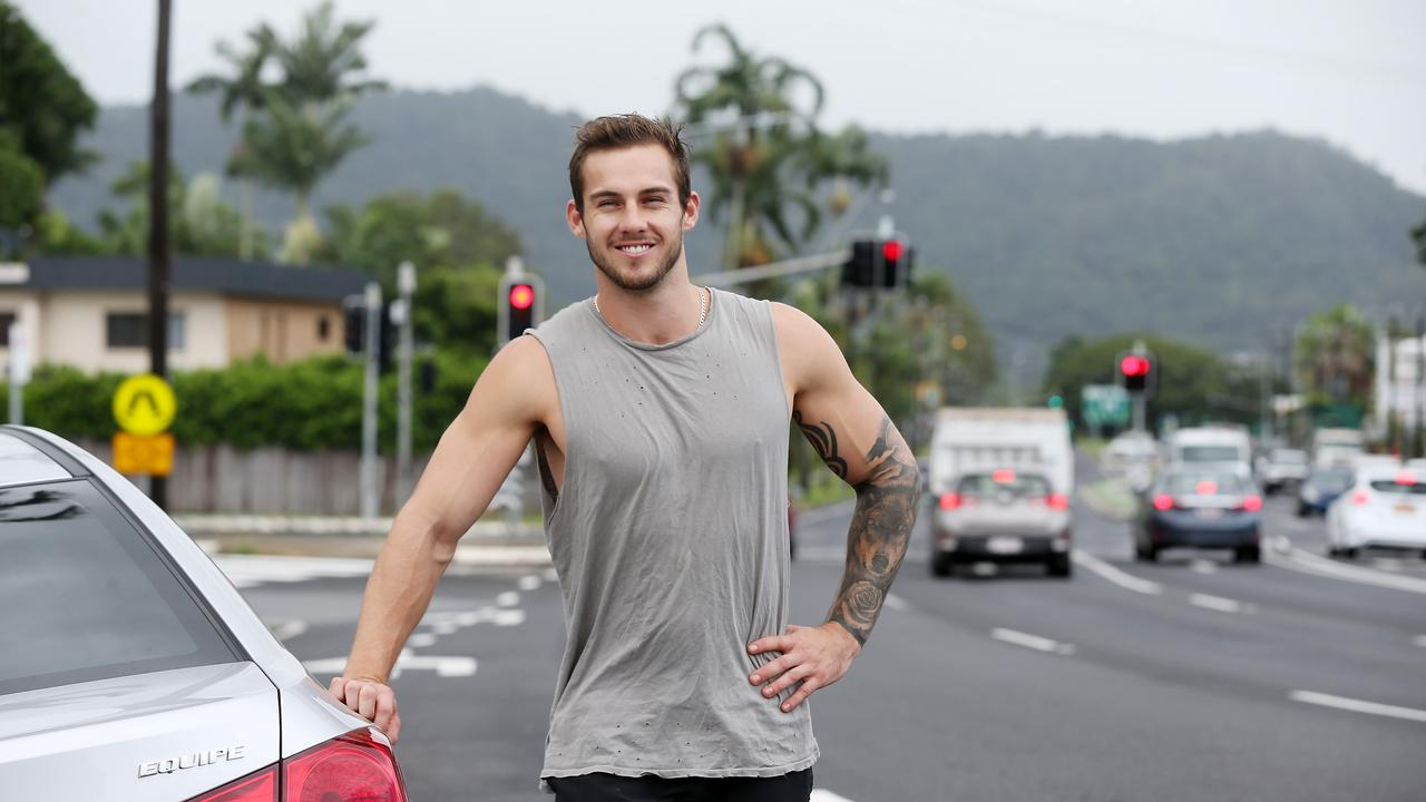 Cairns man Luke Chitty. PICTURE: STEWART MCLEAN