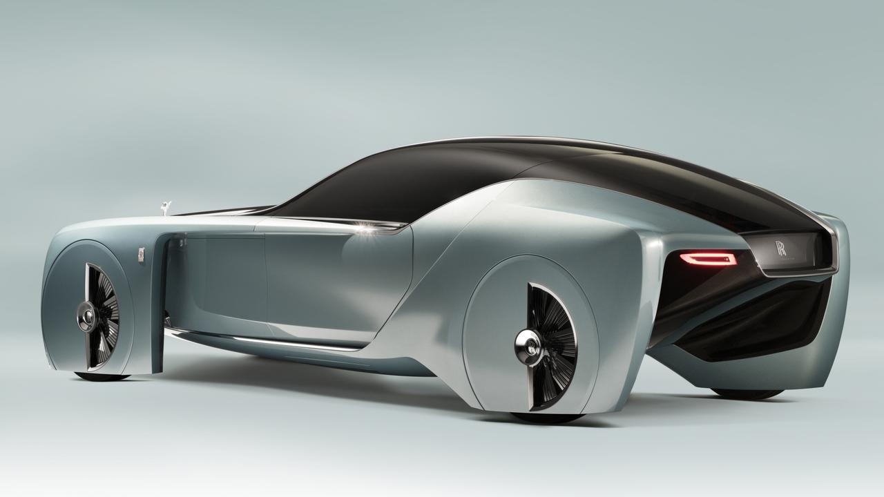 Rolls-Royce showed of its 103EX electric car concept back in 2016.