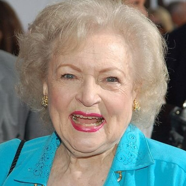 Betty White, pictured here in 2009, has enjoyed a successful career that has spanned more than 75 years.