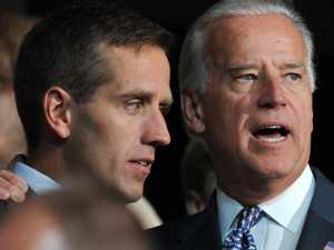 Band reunites to pay tribute to Biden's lost son