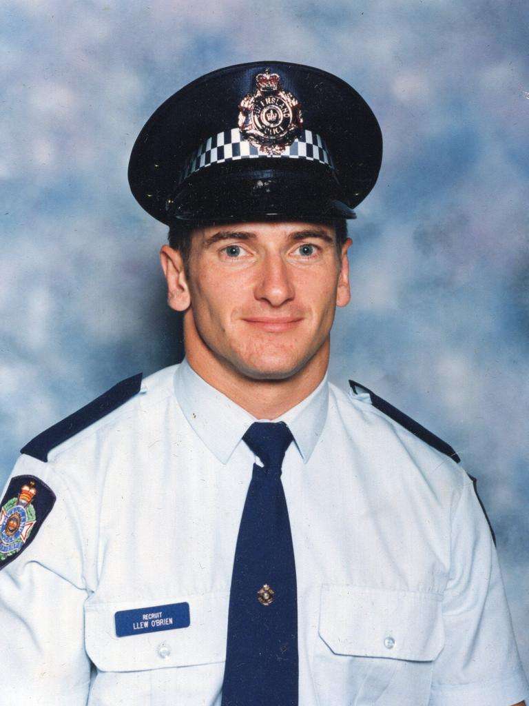 Former police officer and now Federal MP for Wide Bay Llew O'Brien who has battled the demons of PTSD from his career as a Traffic Accident Investigator in the Queensland Police. Picture Supplied