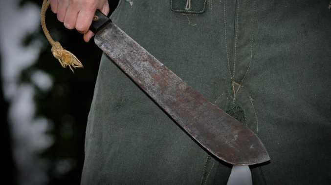 Machete, boomerang used in CBD 'disturbance'