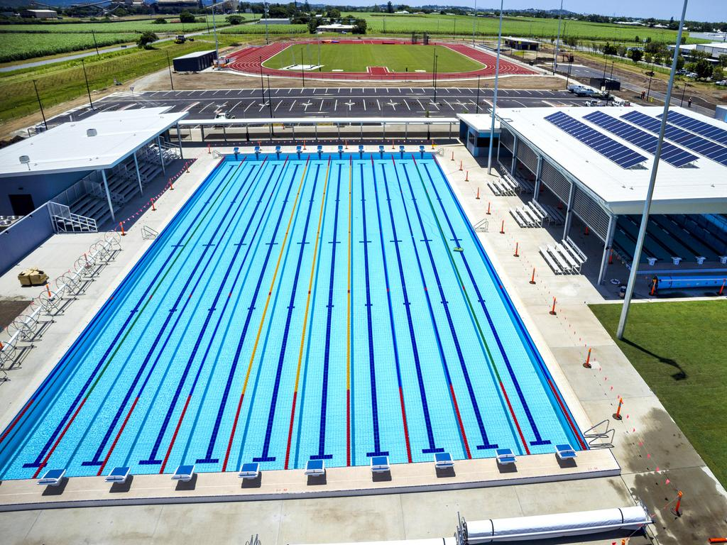 The Mackay Aquatic and Recreaction Centre at Ooralea.