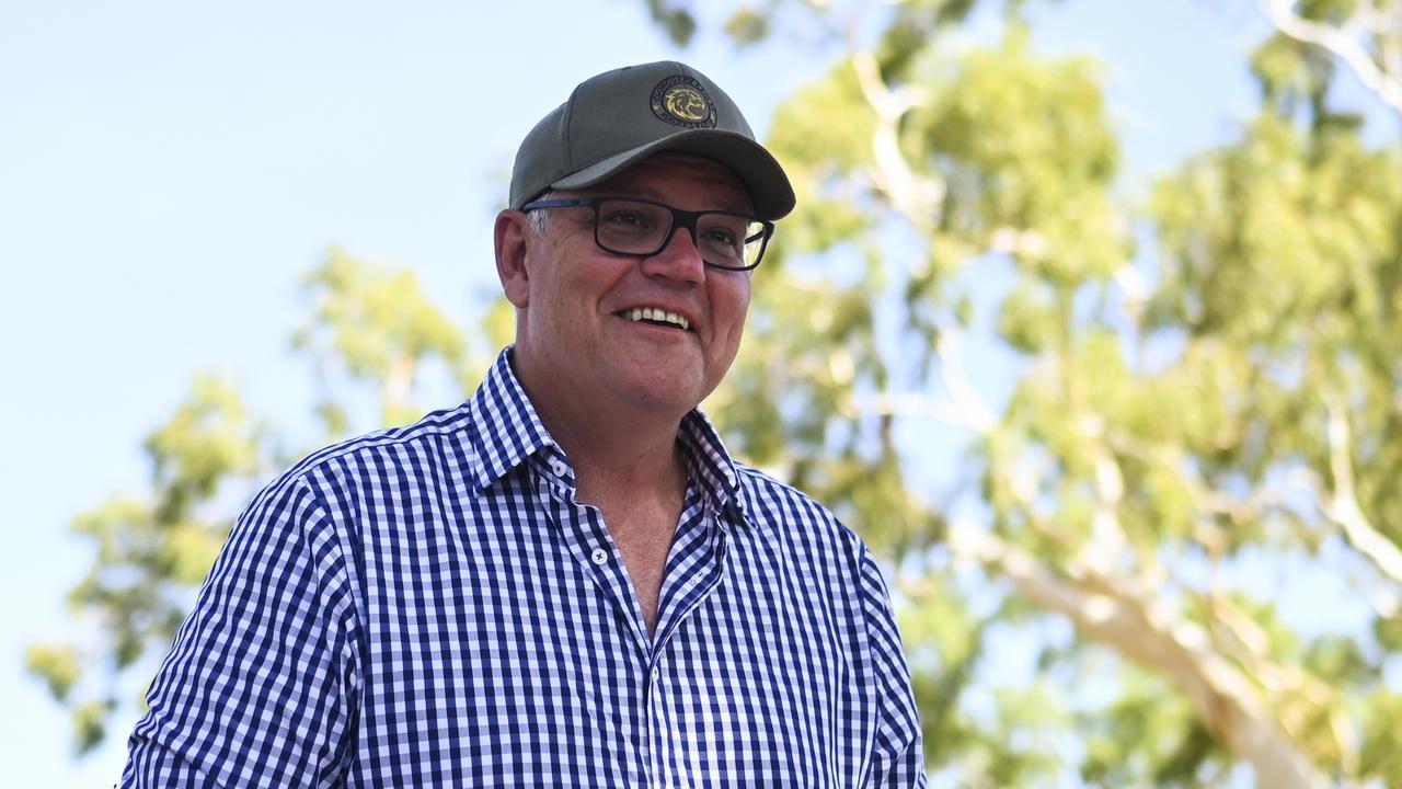 Australian Prime Minister Scott Morrison will be in Gladstone on Thursday. (AAP Image/Lukas Coch)