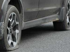 Company boss slashes Merc's tyres in domestic violence rage