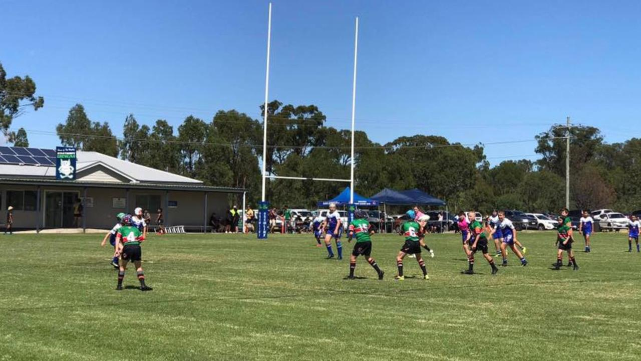 ON FIELD: Action from last year's Redlands4Stanthorpe rugby league carnival. Picture: Redlands4Stanthorpe