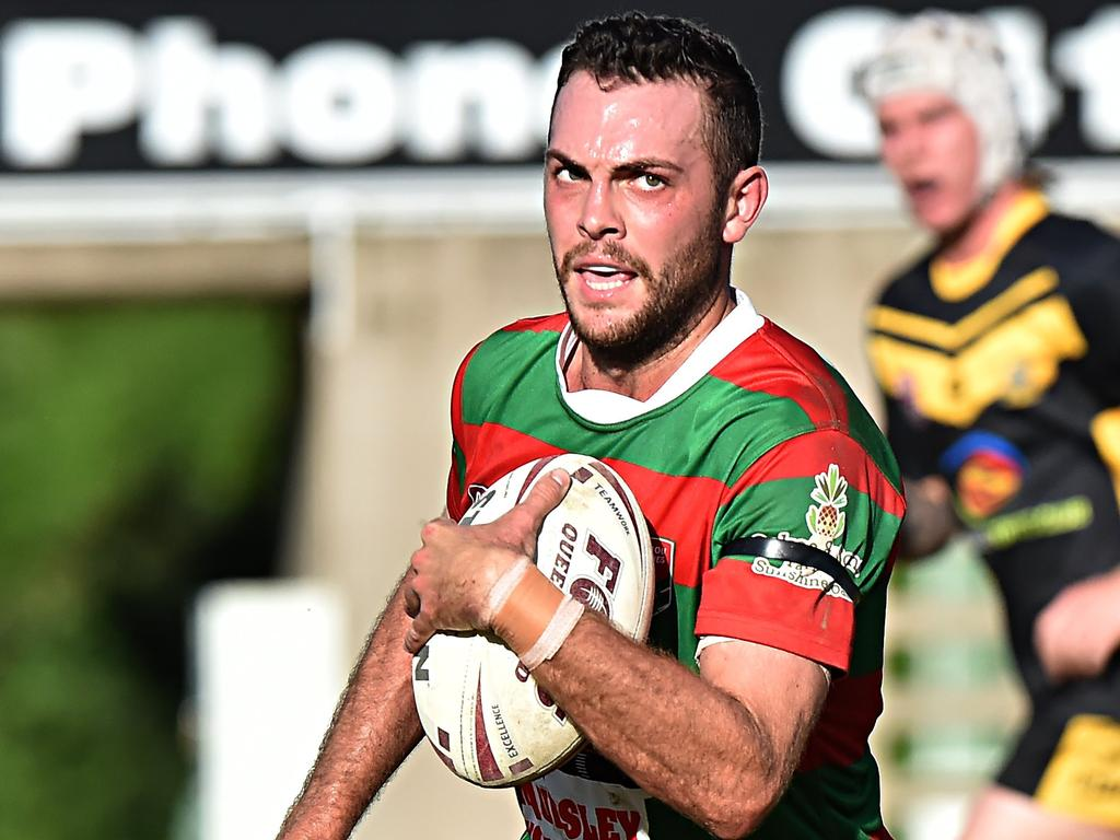 Nambour Crushers halfback David Oakes in action against Caboolture in 2019. Picture: File
