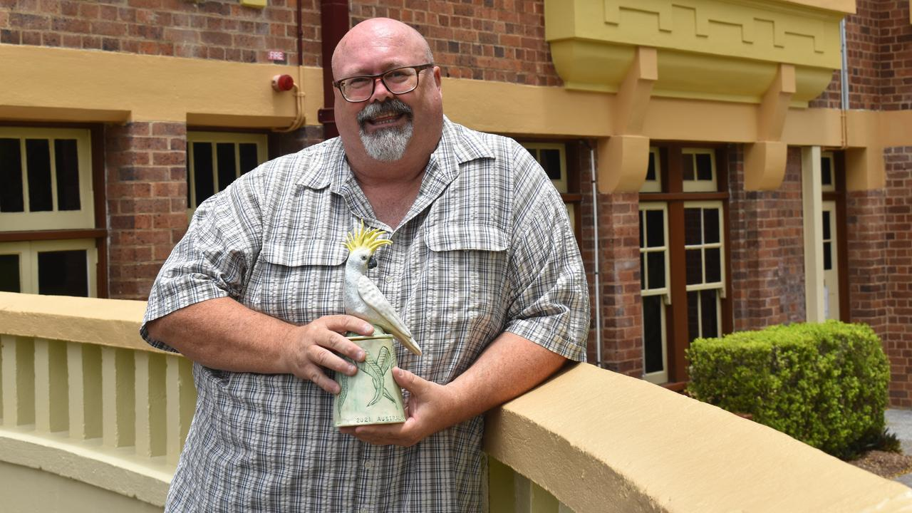 Glen Smith was named as the 2021 Ipswich Citizen of the Year at the Ipswich Australia Day Awards on January 20.