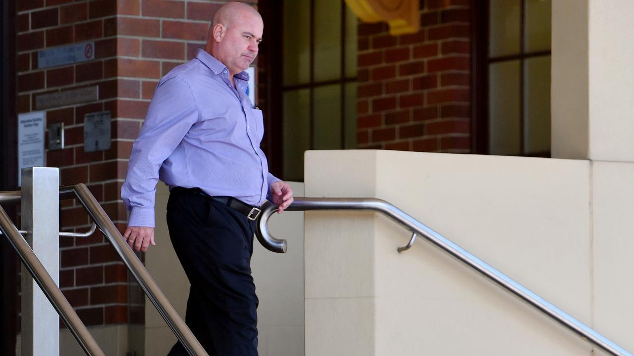 Jason Trevor Franklin leaves court.