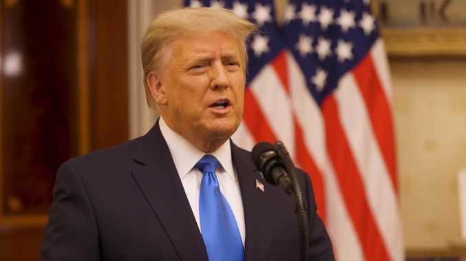 'I took on tough battles': Trump delivers farewell speech