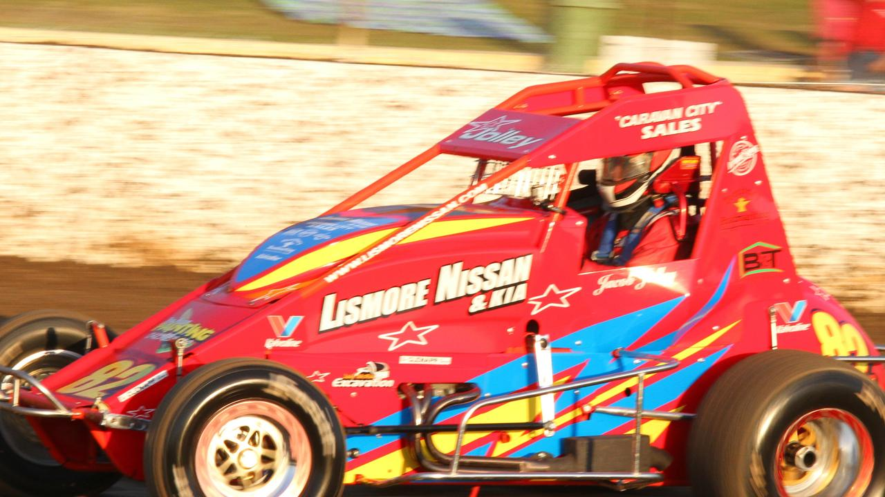 FAST FORM: Jacob Jolley is one of the form drivers of the season who will contest the annual 100-lap Australian Wingless Sprintcar Grand Prix at Castrol Edge Lismore Speedway this weekend. Photo: Tony Powell.