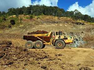 Heavy rains trigger landslip at Mackay region quarry