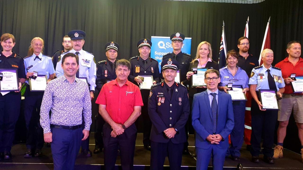 The region's fire and emergency heroes have been honoured in an award's ceremony.