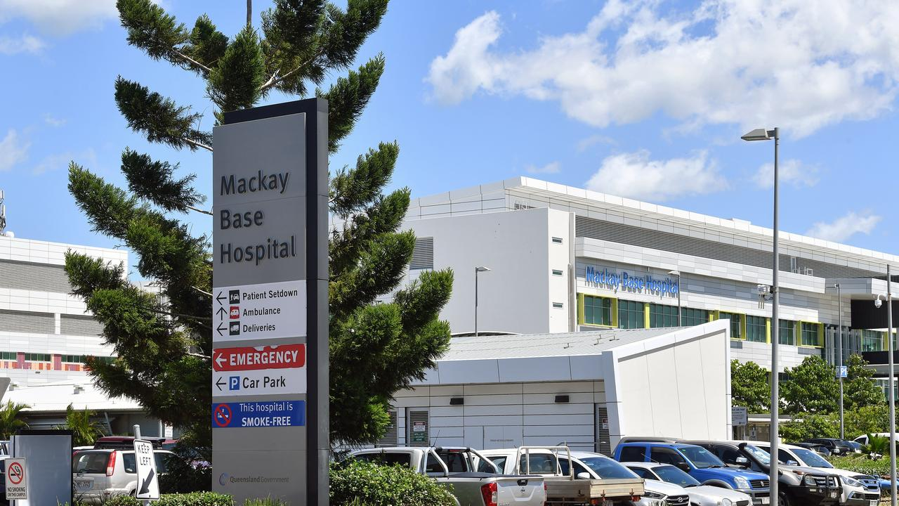 Mackay Base Hospital. Picture: Tony Martin