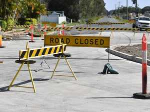 Yamba Rd roundabout roadworks cause traffic headaches