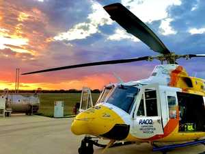 Girl flown to Rockhampton Hospital after skateboard fall
