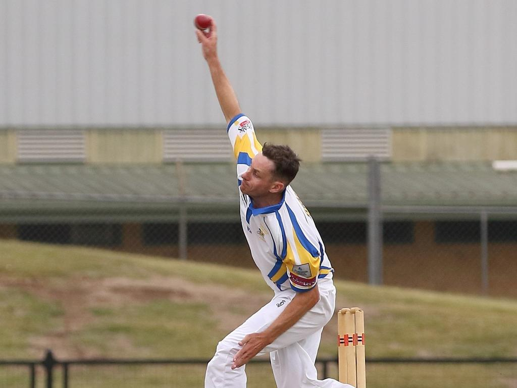 Marist Brothers opening bowler Brendan Mitchell is one of the premier bowlers in the LJ Hooker One Day League.