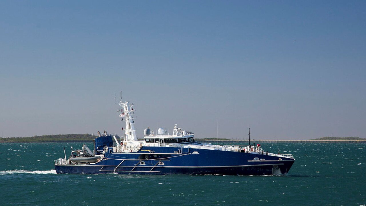 Spanning up to 58m and clocking up to 25 knots with a range of 4000 nautical miles, the ADV Cape Fourcroy is set to berth at the Gladstone Ports Corporation's (GPC) Port of Bundaberg today.