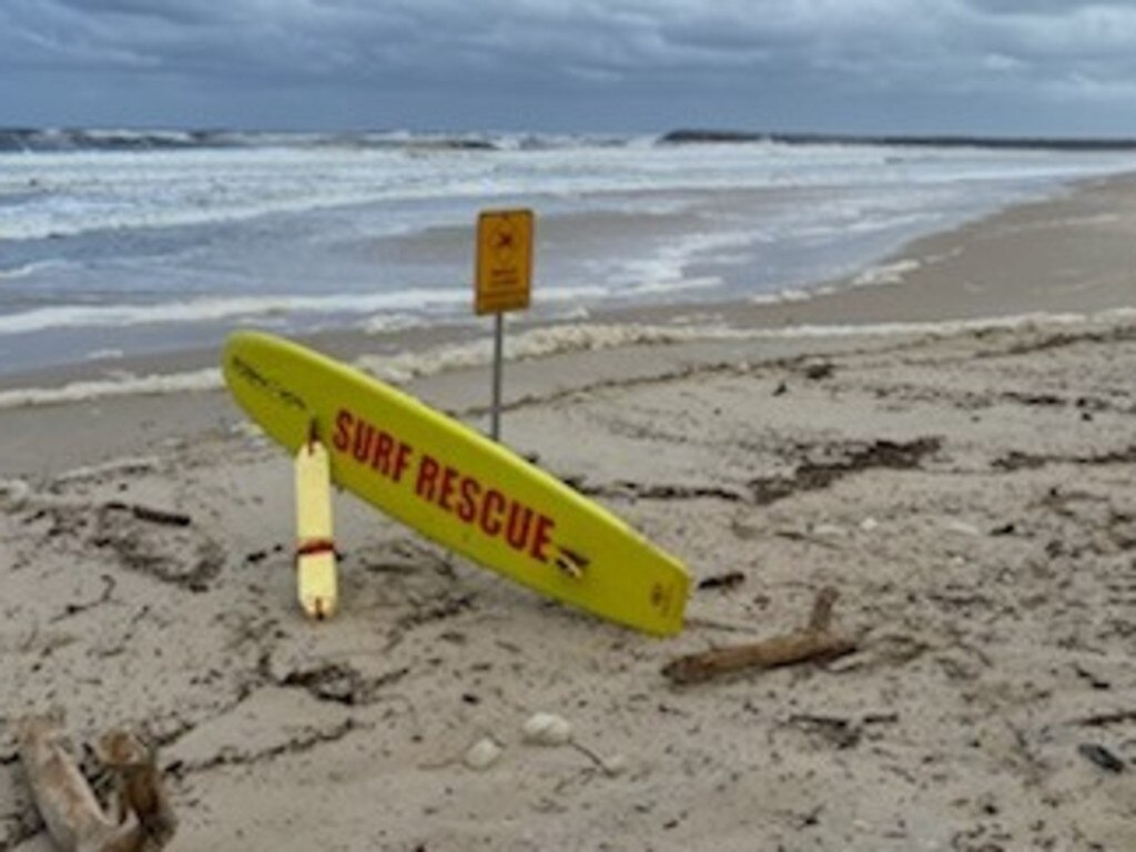 Shelley Beach, Lighthouse Beach at Ballina and Crabbes Creek were all closed.