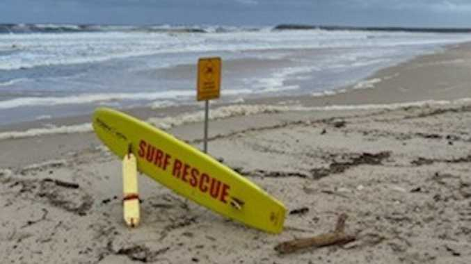 Beaches closed due to rough surf and debris