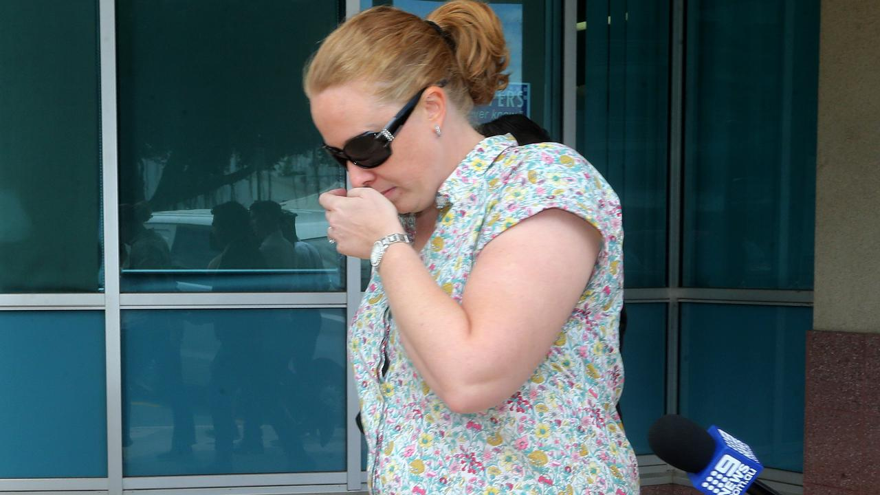 Goodstart Early Learning employee Dionne Batrice Grills, 34, during an earlier hearing at court, has been discharged of any criminal charges. PICTURE: STEWART McLEAN