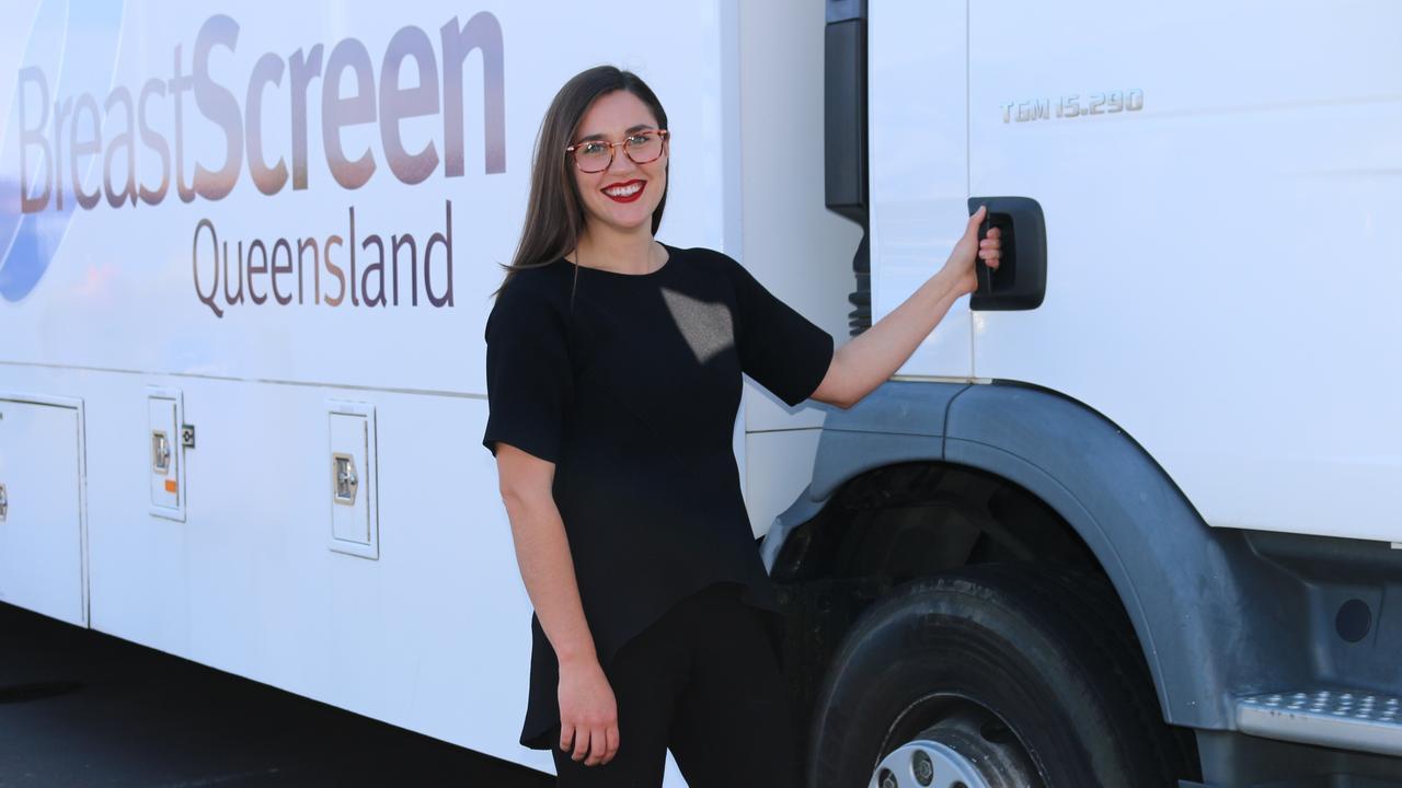 BreastScreen Queensland Toowoomba Service Health Promotion Officer Alexandra Robbins-Hill