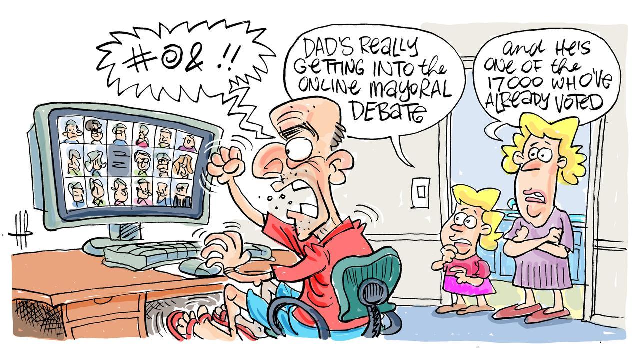 Harry's view on Rockhampton Mayoral Election Debate.