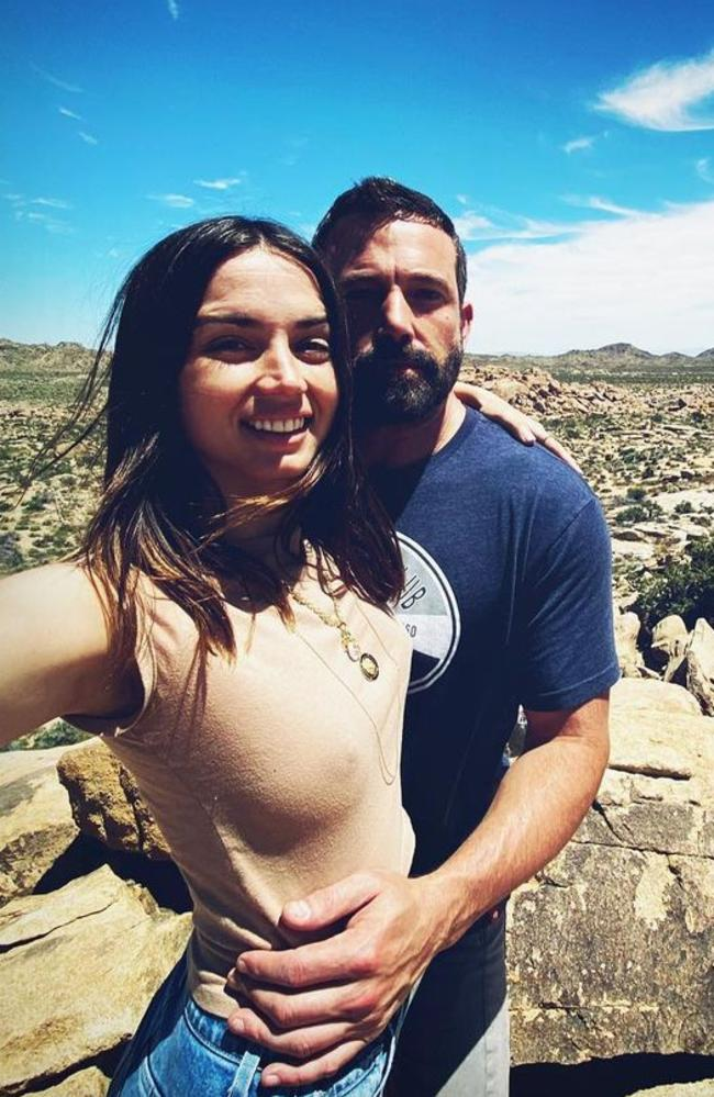 Ben Affleck and Ana de Armas have split after 10 months together. Picture: Instagram