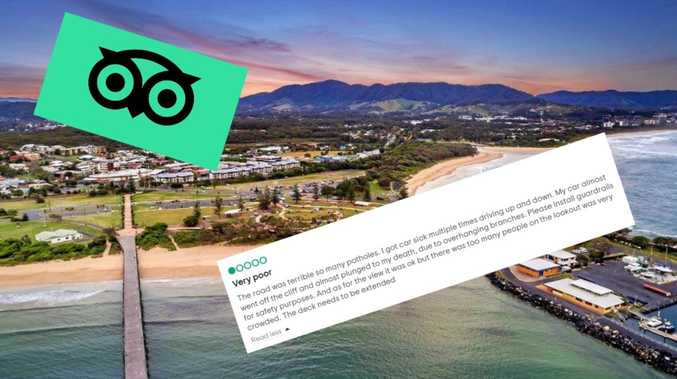 'Almost plunged to my death': The best (worst) Coffs reviews