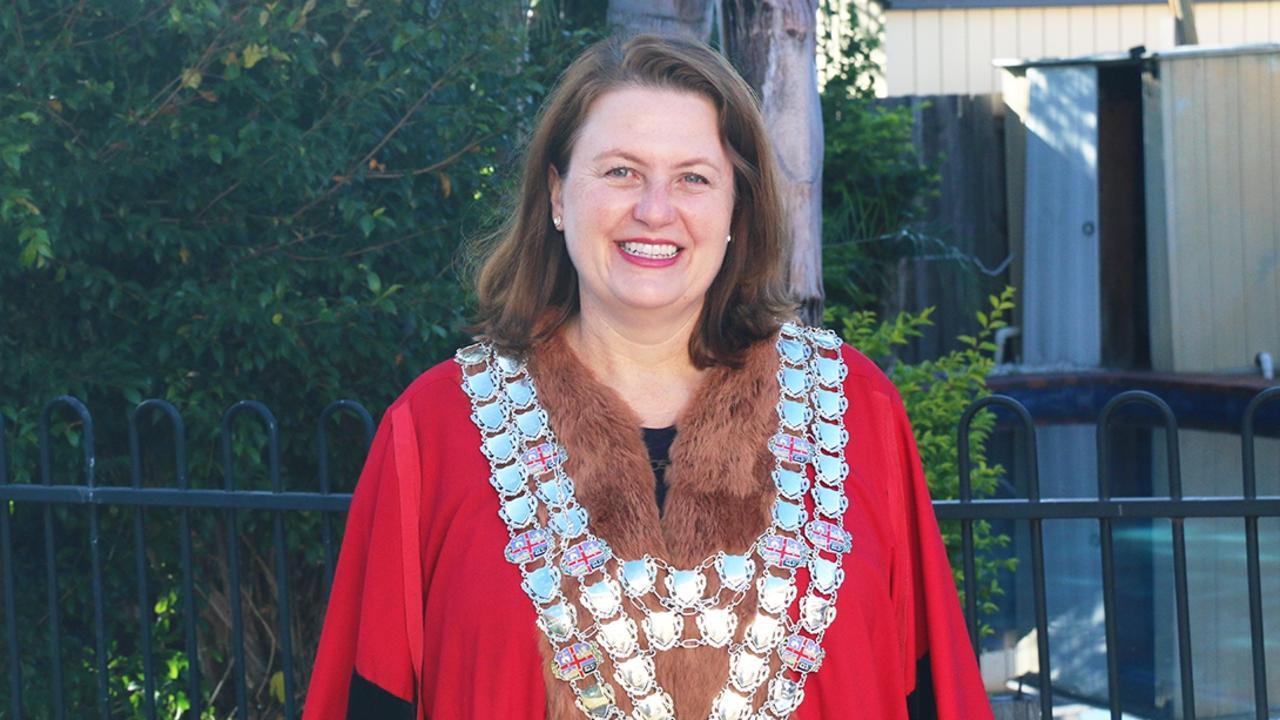 Ipswich Mayor Teresa Harding was sworn in as the city's 51st mayor in April.