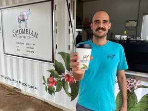 Fresh aromas waft into new CBD as first cafe opens