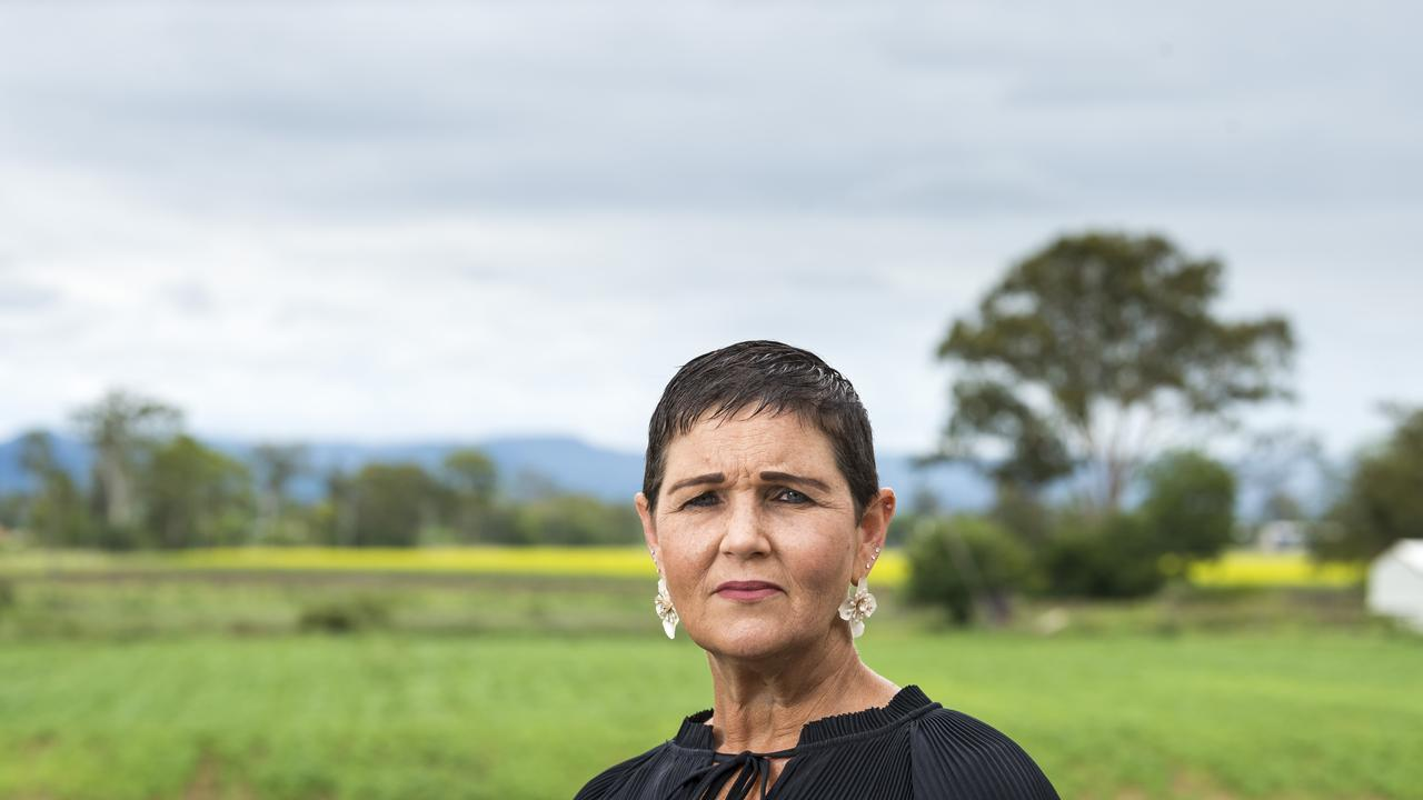 Lockyer Valley Regional Council Mayor Tanya Milligan responds following the Gatton Star revealing that the Lockyer Valley missed out on new land valuations in 2021. Picture: Kevin Farmer.