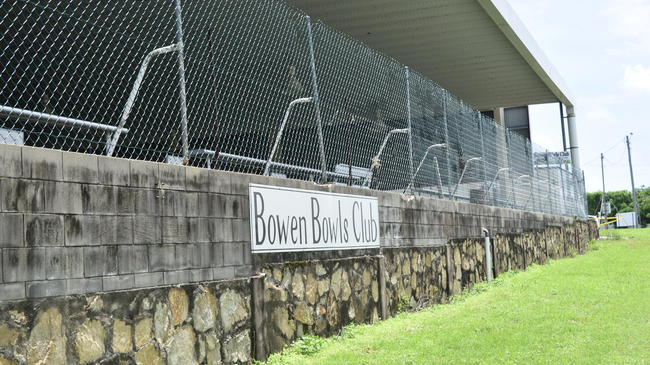 Bowen Bowls Club is thousands of dollars out of pocket after a break in at the weekend. Photo: Elyse Wurm