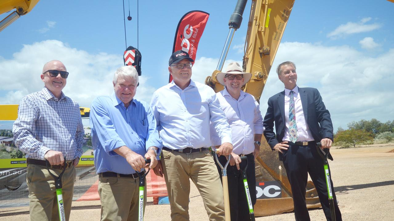 The sod is turned on Gladstone's Advanced Manufacturing hub
