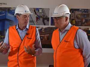 Prime Minister visits Maryborough munitions manufacturer