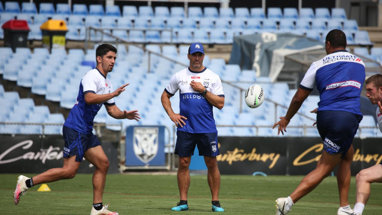 New Canterbury coach Trent Barrett is banking on a youth led revival at Belmore. Pic: Bulldogs Digital