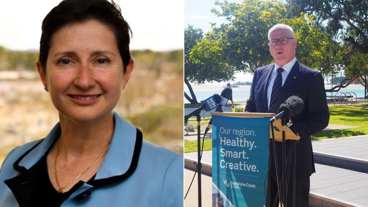 Sunshine Coast Regional Council Mayor Mark Jamieson and council CEO Emma Thomas, will play key roles in an upcoming review of council information processes.