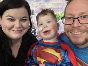 Widowed mum's fight to save sick son