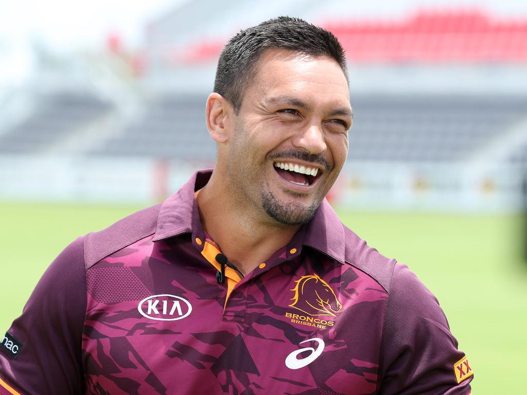 Incumbent Brisbane Bronco skipper Alex Glenn. Picture: Liam Kidston.