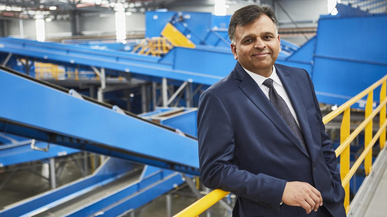 Vik Bansal led an award-winning turnaround of the company. Picture: Waste Management Review