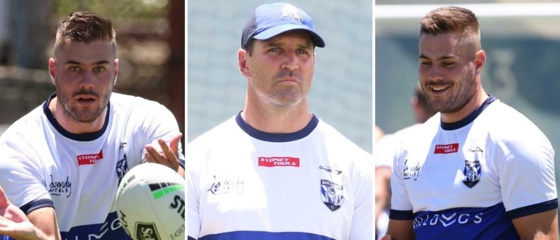 Trent Barrett talks new recruits and big expectations at the Bulldogs in 2021