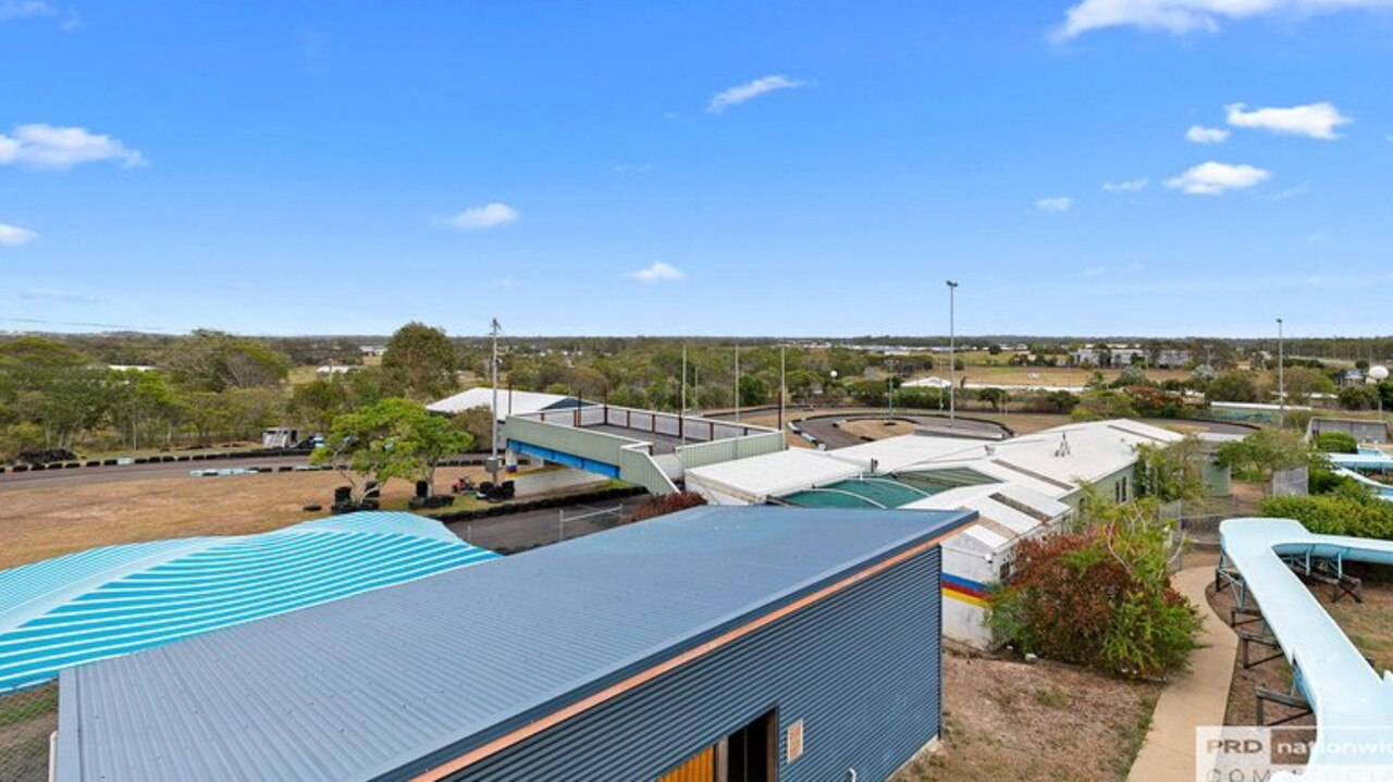 Hervey Bay's waterslide and go kart property on the corner of Maryborough Hervey Bay Rd and Scrub Hill Rd has been up for sale for more than a year.