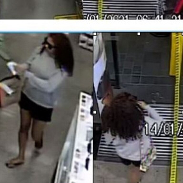 Police have released CCTV footage of a woman they think may help them with investigations after a shop in Springfield was stolen from.