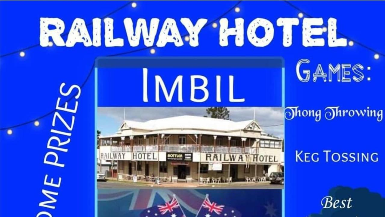 Australia Day at the Railway Hotel
