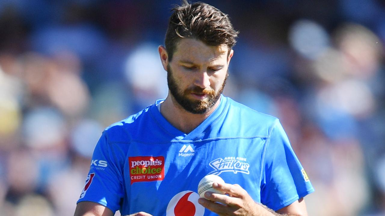 Michael Neser is back with the Strikers after being involved in the Test squad.