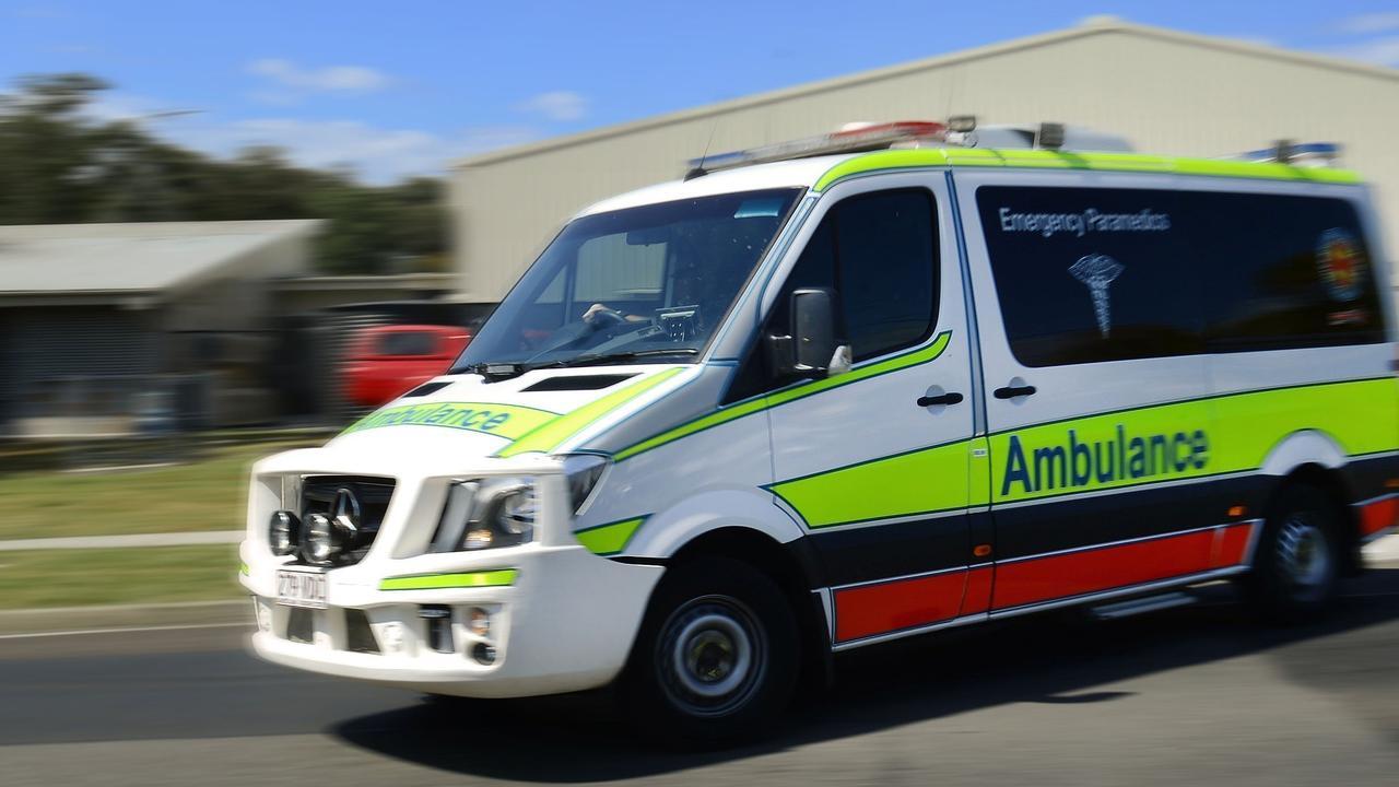 Paramedics were called to a two-car crash at Howard St, Nambour.