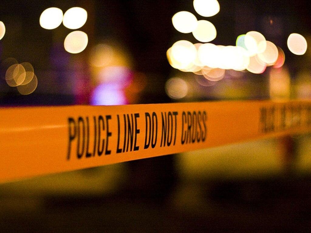 Generic crime scene tape.