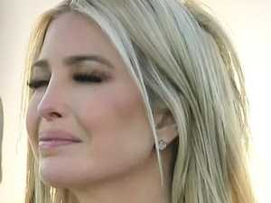 Ivanka spotted emotional and in tears