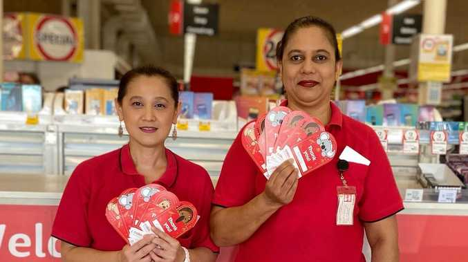 Gladstone shoppers chip in $2.7k for cancer cause